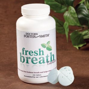 Doctors Foster and Smith Fresh Breath tabs
