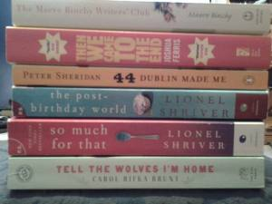 A visit to my local used bookstore netted me a few titles to keep me busy. For a little while, anyway.