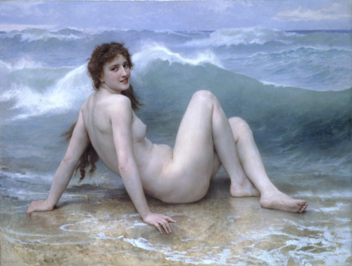 The Wave (1896) by William-Adolphe Bouguereau