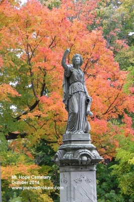 Mt. Hope Cemetery, October 2014 (c) Joanne Brokaw