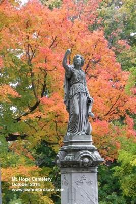 Mt. Hope Cemetery, October 2014 (c) Joanne Brokaw