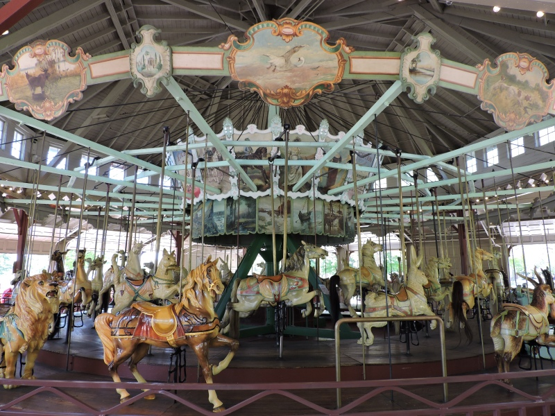Carousel 4 Charlotte NY (c) 2015 Joanne Brokaw | Notes From