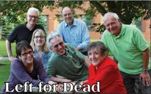 Check out Left For Dead improv, Wednesday at Writers & Books